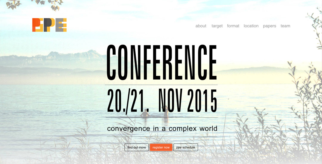 PPE-Conference Website